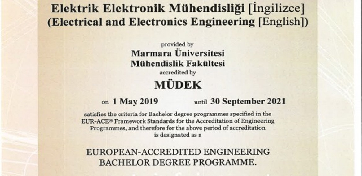 MÜDEK Accreditation